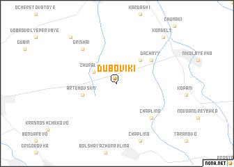 map of Duboviki