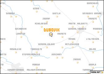 map of Dŭbovik
