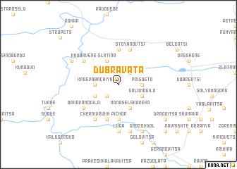map of Dŭbravata
