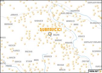 map of Dubravčići