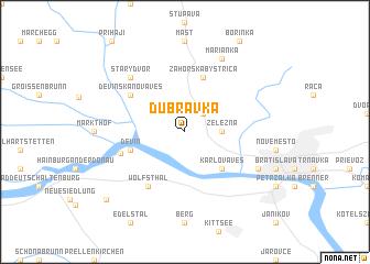 map of Dúbravka