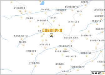 map of Dŭbravka