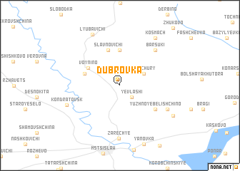map of Dubrovka