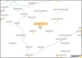 map of Dubrovo