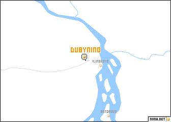 map of Dubynino