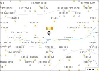 map of Dub