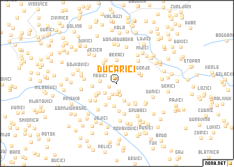 map of Ðucarići