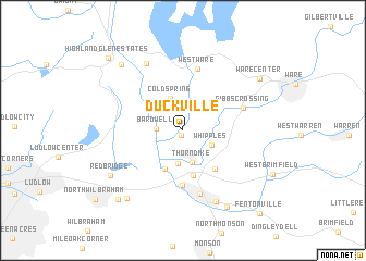 map of Duckville