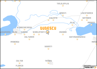 map of Dudescu
