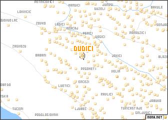 map of Ðuđići