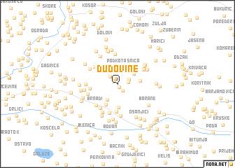 map of Dudovine