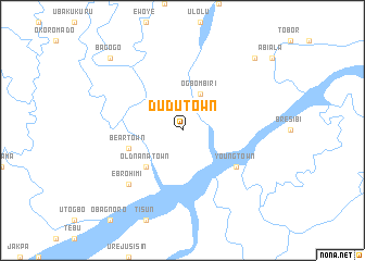 map of Dudu Town