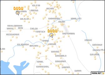 map of Dūdū