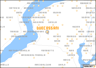map of Due Cossani