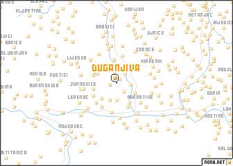 map of Duga Njiva