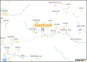 map of Duge Njive