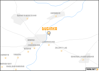 map of Duginka
