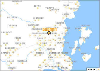 map of Dugman