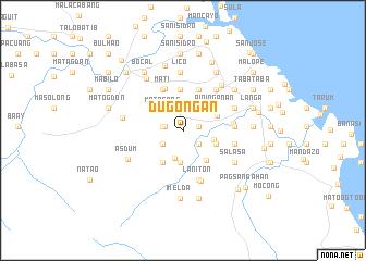 map of Dugoñgan