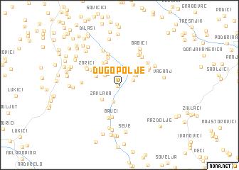 map of Dugopolje