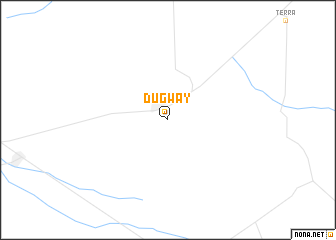 map of Dugway