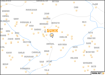 map of Duhik