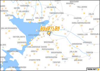 map of Dujaylah