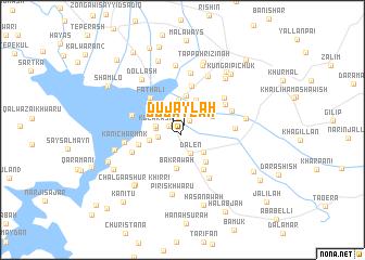 map of Dujaylah