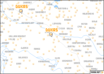 map of Dukas