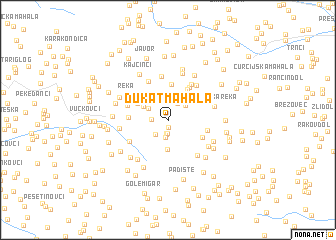 Dukat Mahala Serbia and Montenegro map nonanet