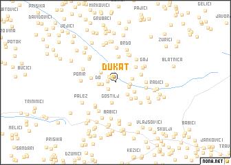 Dukat Bosnia and Herzegovina map nonanet