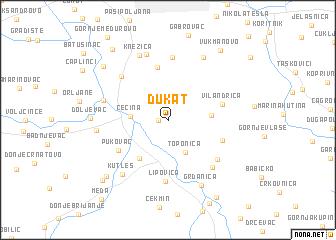 Dukat Serbia and Montenegro map nonanet