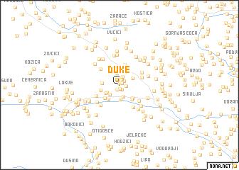 map of Duke