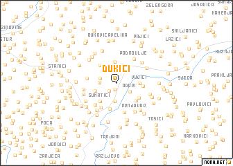 map of Ðukići