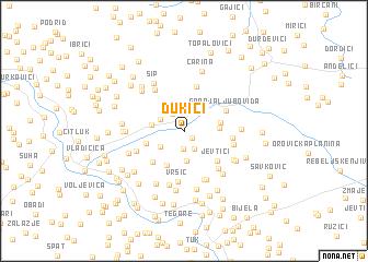 map of Dukići