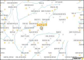 map of Dukun