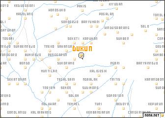 map of Dukun