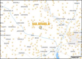 map of Dulanwāla