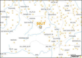 map of Dulit