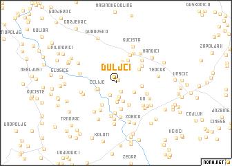 map of Duljci
