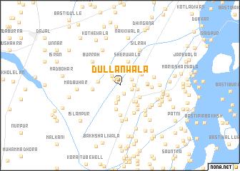 map of Dullanwāla