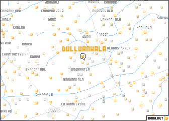 map of Dulluānwāla
