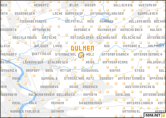 map of Dülmen