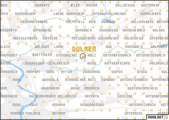 map of Dülmen
