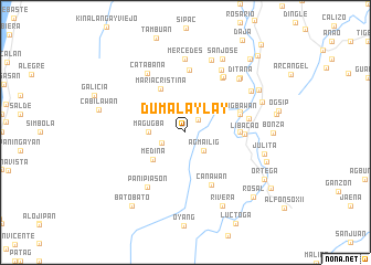 map of Dumalaylay