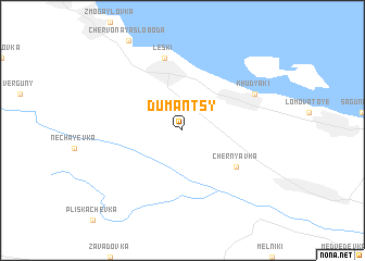 map of Dumantsy