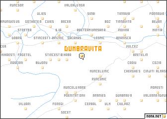 map of Dumbrăviţa