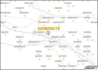 map of Dumbrăviţa