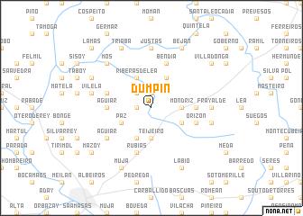 map of Dumpín