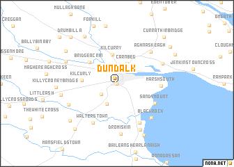 Dundalk Map Of Ireland.Dundalk Ireland Map Nona Net